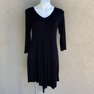 Corset Style w Chunky Laces Low Back Jersey Dress